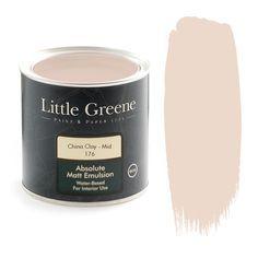 Peinture Little Greene Salix 99 - Décoration Little Greene Farbe, Little Greene Paint, English Rose Kitchen, Peinture Little Greene, Portland Stone, China Clay, Wallpaper Uk, Bedroom Wallpaper, Paint Companies
