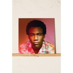 Childish Gambino - Because The Internet (60 CAD) ❤ liked on Polyvore featuring black
