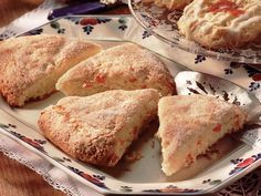 Apricot Scones...Great recipe! We made this today but substituted with fresh strawberries. It was so good!