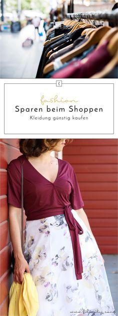 Kleidung günstig kaufen – 6 Tipps zum Geld-Sparen beim Shoppen
