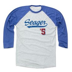 Corey Seager Script B Los Angeles D Officially Licensed MLBPA Baseball T-Shirt Unisex S-3XL