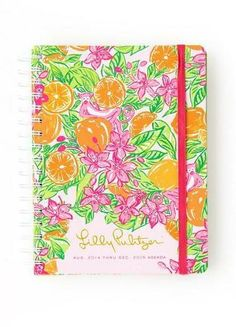 Lilly Pulitzer Large Agenda in Peelin Out. really thinking of buying one for the upcoming school year. Just because it's college doesn't mean your school supplies can't be cute:)