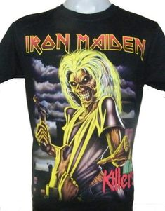 76119e123 844 Best T-shirts images in 2019 | Crew neck, Iron Maiden, Light beige