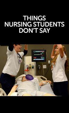 Things Nursing Students Don't Say - Nurseslabs #nursing #nurses #studentnurses…