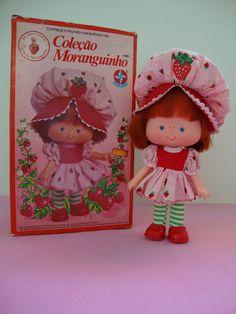 Boneca Moranguinho - Brasil