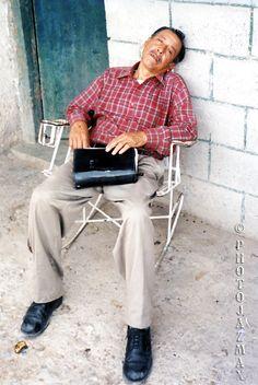 Moises Takes a Siesta, El Macuate, Tamaulipas, Mexico