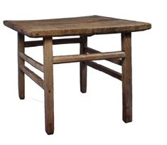 Antique Revival Vintage Style Dinner Table, Reclaimed Wood, Large