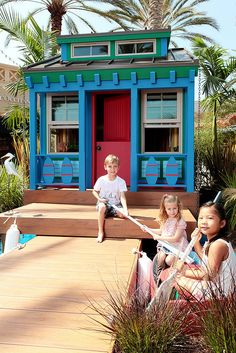 Cool playhouse for the kids