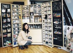CS: Let's talk about this craft closet!! You must have thousands of supplies. Where do you even find a closet like this? When did you decide it was time to invest in this closet? ED: Being a prop stylist and design consultant requires lots of tools.  My toolbox and bags were always bursting at the seams, and I was always having to throw things away, as living in NYC doesn't allow for lots of space.  I always say . . . this is cause for clutter, and I end up editing everyday. The amazing ...