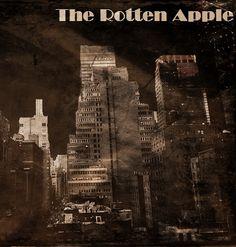 """The Rotten Apple,"" a noir novel coming Spring, 2014."