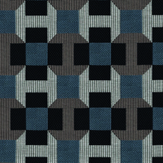 This graphic design echoes Parisian pavement with a highly sophisticated cotton jacquard fabric which enhances the pattern, giving it extra depth by creating a trompe l'œil effect. Textiles, Textile Patterns, Textile Design, Print Patterns, Hermes Home, Jacquard Fabric, Fabric Wallpaper, Surface Pattern Design, Paris