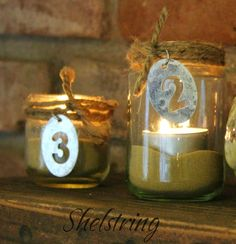 Numbered baby jar il