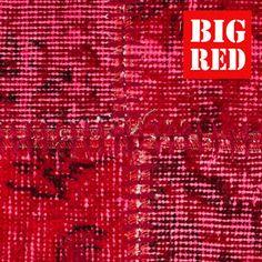 ITC Flooring Area Rugs Vintage Red