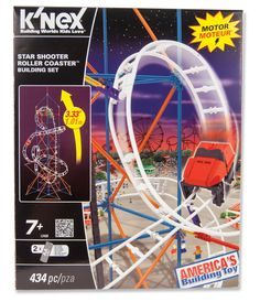 K'NEX® Star Shooter Coaster Building Set --- #ACMoore has partnered with #ToysforTots this #holiday season by donating 25,000 items to families in need. Help us reach our #ToyDrive goal of 50,000 donated toys by giving back socially. Re-pin your favorite toys, now through 12/14, and we'll give away the top 10 MOST RE-PINNED toys to Toys for Tots! #pintogive #giftdrive