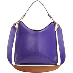 Aquatalia Kerry Washington Leather Hobo - 100% Exclusive ($635) ❤ liked on Polyvore featuring bags, handbags, shoulder bags, man bag, hobo shoulder bags, leather hobo purses, man leather shoulder bag and evening handbags
