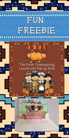First Thanksgiving Lesson and Pop Up Book Kindergarten Activities, Classroom Activities, Activities For Kids, Thanksgiving Activities, Language Activities, Holiday Activities, Thanksgiving Ideas, Classroom Ideas, Have Fun Teaching