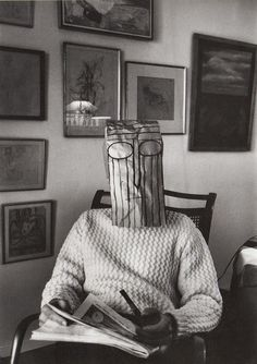 """Saul Steinberg was a Jewish Romanian-born American cartoonist and illustrator, best known for his work for The New Yorker, most notably View of the World from Avenue. He described himself as """"a writer who draws"""". Saul Steinberg, The New Yorker, Museum Ludwig Köln, The Americans, Inge Morath, Art Brut, Feather Painting, Face Off, Magnum Photos"""