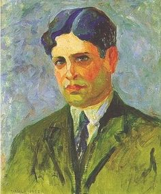Portrait of Oswald de Andrade, 1922 (Tarsila do Amaral).