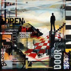 Untitled No 1187 100x100 cm 2011