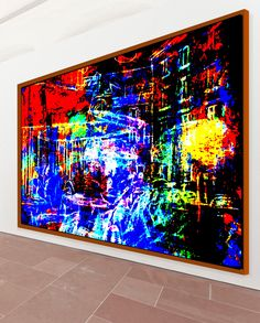 Lee Eggstein / abstrakte ,moderne Kunst der Malerei dramfolistisch / Kunstdrucke / Leinwanddrucke, Originale , Onlineshop ,architektur,