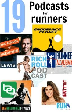 19 Podcats for Runners - from beginners to ultra runners to those just looking for motivation in fitness you'll find something here. #running