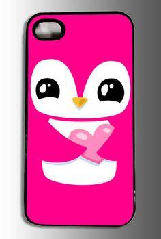 Pink Penguin iPhone Case
