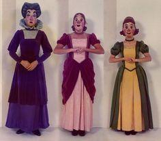 1968 Cinderella's StepFamily at Disneyland by Miehana on Flickr.