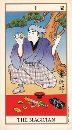 tarot magician | The Magician - Ukiyoe Tarot | Tarot & Other Oracles | Pinterest