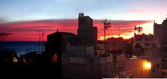 Puesta de sol en Sant Pol de Mar (Barcelona)