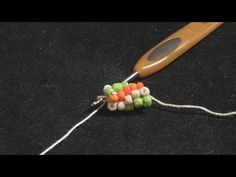 How to Do Spiral Crochet with Beads - YouTube