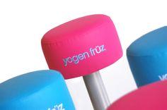 #taburete de #bar #personalizado para #franquicia de yogurt helado