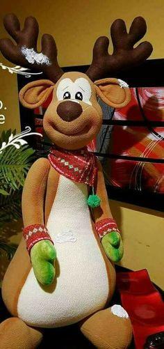 Reno Xmas Decorations, Deco Mesh, Tigger, Bowser, Snowman, Diy And Crafts, Christmas Ornaments, Holiday Decor, Papa Noel