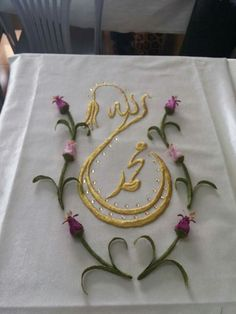 Couture, Veronica, Salons, Diy And Crafts, Embroidery, Flowers, Appliques, Needlepoint, Tablecloths