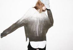 #grey + #destroyed #ombre #raquelallegra