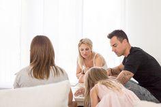 Nadin Benaglio: Der sichere Rückhalt der Familie.