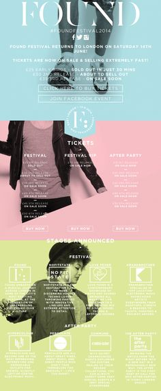 FOUND Festival 2014 - tickets on sale & stages announced!