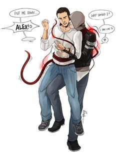 What's with the all the fanart on here with Alex and Desmond? Description from winglyc.deviantart.com. I searched for this on bing.com/images