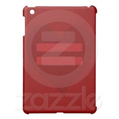 Red Equality Heart ipad mini cases