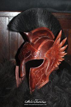 Flayern helmet by AtelierFantastique.deviantart.com on @DeviantArt