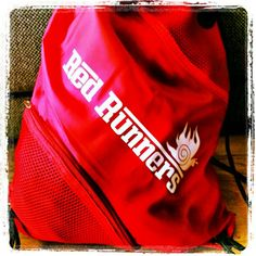 Red Runners Bag