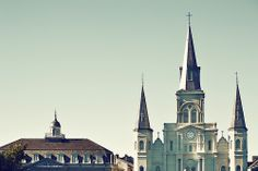 Orleans - The Saint Louis Cathedral New Orleans, Louisiana!