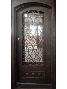 All of our doors are custom built to your exact dimensions. Please provide desired width and height for a free quote. Wrought Iron Doors, Creative, Beautiful, Iron Gates, Pirates