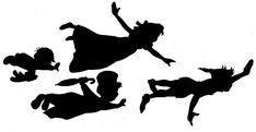Pix For > Peter Pan Stencil