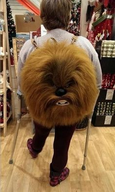 Star Wars Chewbacca Backpack - Carry Your Books to School in Style ---- jokes funny pictures walmart fail humor
