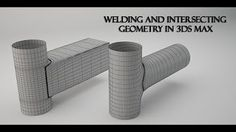 3ds Max Basic Modeling Intersecting Geometry - YouTube