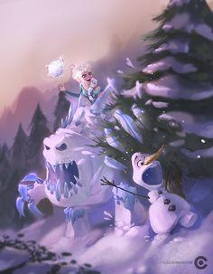 Frozen by kairuiz.deviantart.com on @DeviantArt