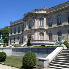 The Elms mansion in Newport, RI