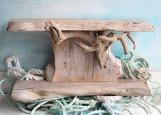 Driftwood Shelves, Drift Wood Shelves, Driftwood furniture Cornwall UK 62x34 cm