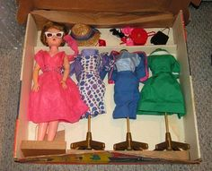 Candy Fashion Doll 1960's Candy Fashion Doll many