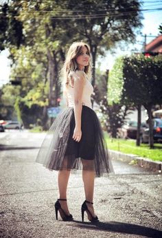 Jupon en tulle : 15 Ways to Wear the Fairy Tulle Skirts for Different Looks  Pretty Designs